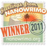 NaNo 2011 Winner badge