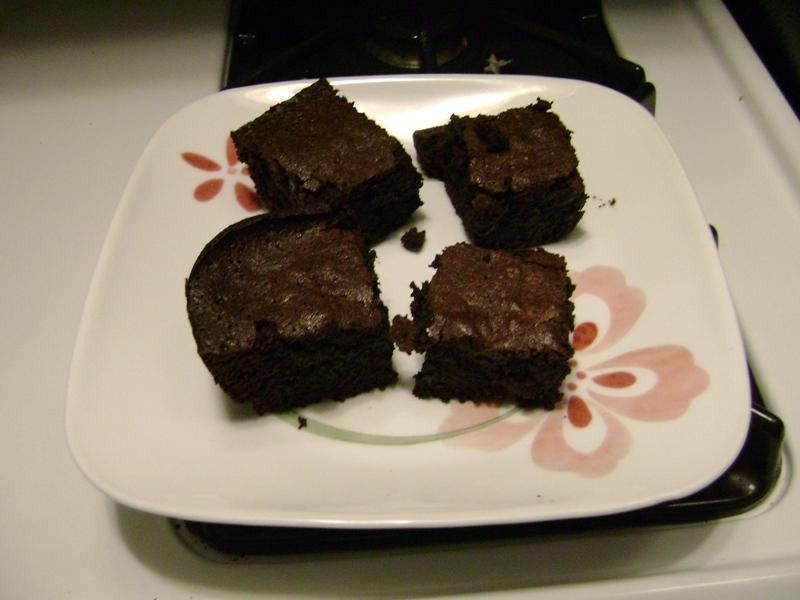 Alton Brown Plain Ole Brownies