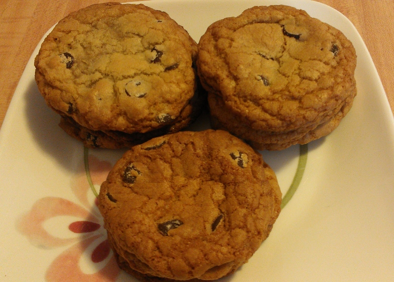 alton brown's gluten-free chocolate chip cookies