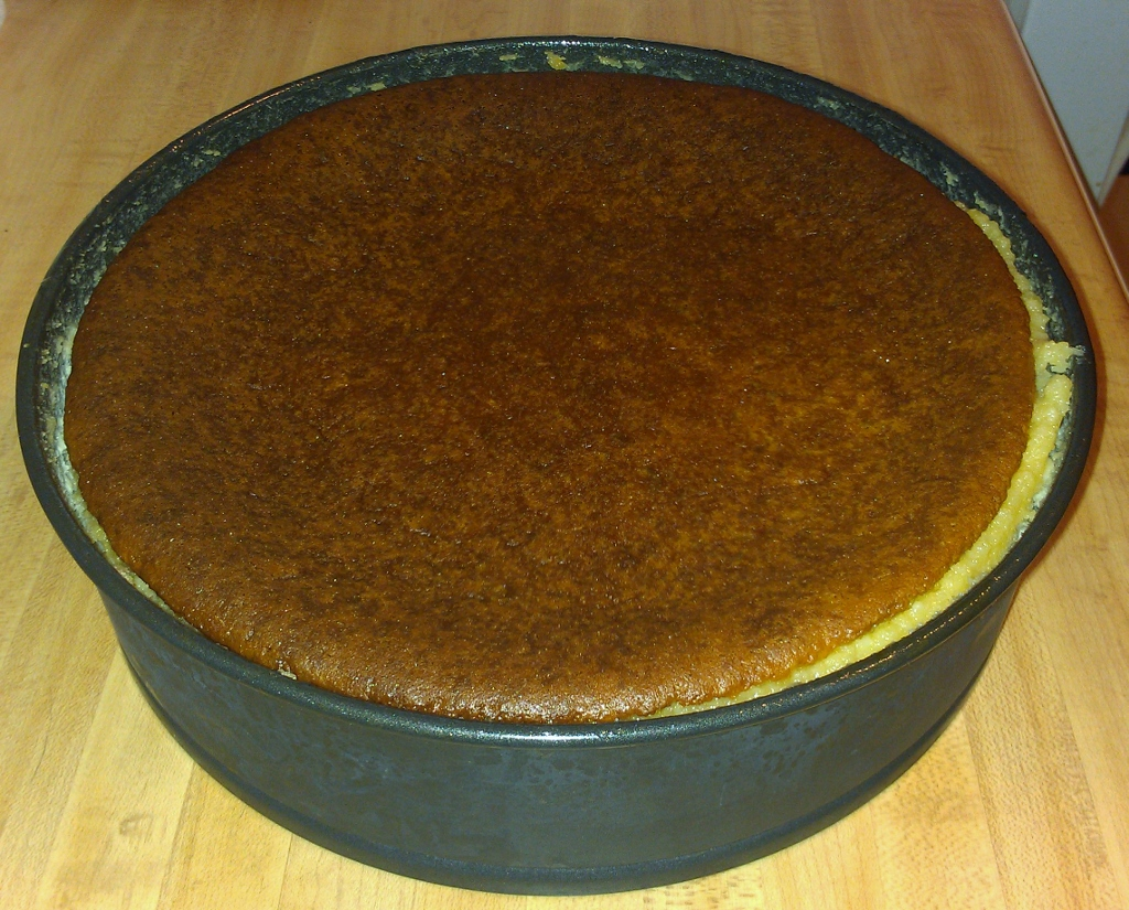 honey bourbon cheesecake